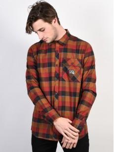 FOX košile ROWAN Bordeaux