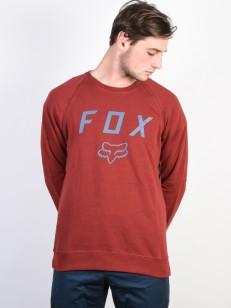 FOX mikina LEGACY Bordeaux
