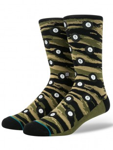 STANCE ponožky EIGHT BALL OLIVE