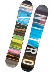 NITRO snowboard SMP BLU/BRW