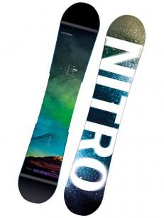 NITRO snowboard TEAM EXPOSURE WIDE GRN/BRW