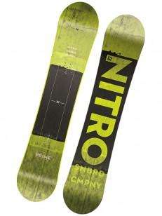NITRO snowboard PRIME TOXIC WIDE GRN/BLK