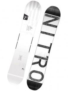 NITRO snowboard T1 WHT/BLK