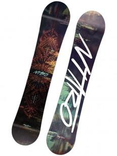 NITRO snowboard MYSTIQUE BRW/GRN