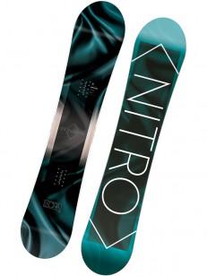 NITRO snowboard LECTRA BLK/BLU