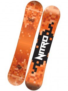 NITRO snowboard RIPPER YOUTH RED
