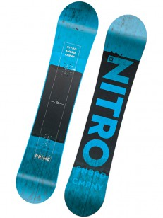 NITRO snowboard PRIME BLUE WIDE BLU/BLK