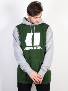 ARMADA mikina ICON forest green