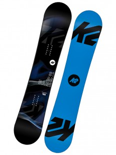 K2 snowboard STANDARD BLUE/BLACK