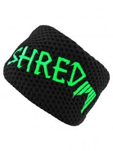 SHRED čelenka HEAVY KNITTED HEADBAND Black