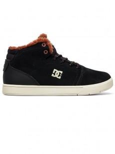 DC boty CRISIS HIGH WNT BLACK/BROWN/BROWN