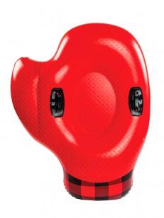 BIG MOUTH INC. sněžná tuba MITTEN RED