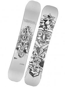 VIMANA snowboard BRAGE SILVER