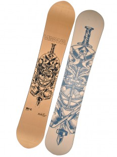 VIMANA snowboard CLONE ALBIN BRONZE
