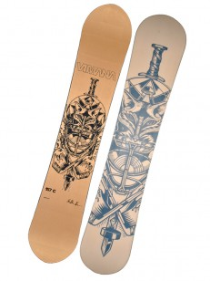 VIMANA snowboard CLONE KOSKI BRONZE