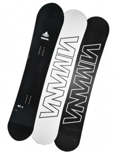 VIMANA snowboard CONTINENTAL DIRECTIONAL C BLACK
