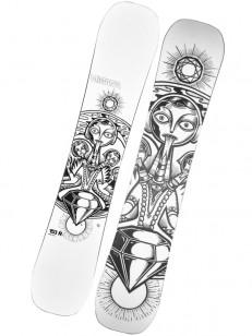 VIMANA snowboard MOTHERBRAIN WHITE