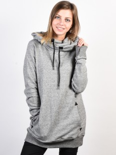 VOLCOM mikina TOWER P/OVER Heather Grey