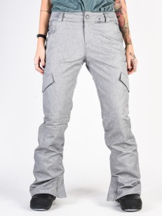 VOLCOM kalhoty BRIDGER INS Heather Grey