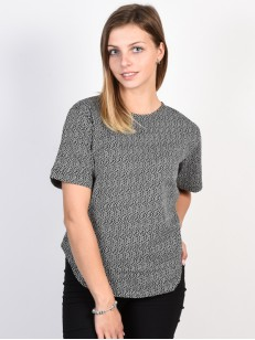 EZEKIEL top SQUARE BLK