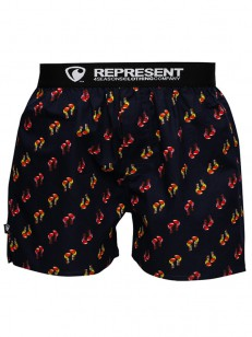 REPRESENT trenky MIKE BOXERS MATCH Navy