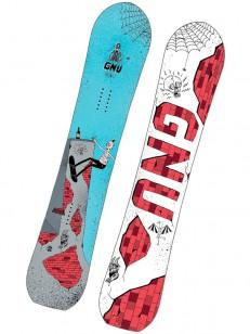 GNU snowboard MONEY C2E BLU/WHT