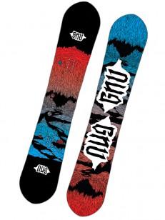GNU snowboard T2B BLK/RED