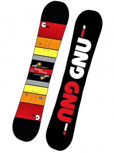 GNU snowboard ASYM RIDERS CHOICE C2X BLK/RED