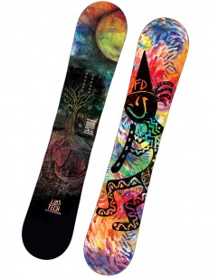 LIB TECHNOLOGIES snowboard BOX SCRATCHER BTX BLK/R