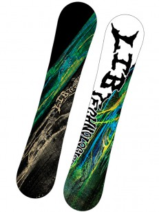 LIB TECHNOLOGIES snowboard BANANA MAGIC FP C2 BLK/