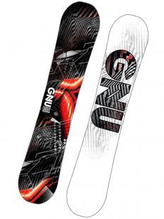 GNU snowboard ASYM CARBON CREDIT BTX BLK/WHT