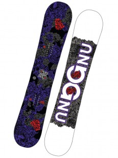 GNU snowboard ASYM B-NICE BTX VIO/WHT