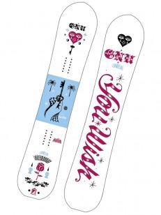 GNU snowboard GLOSS C2E WHT