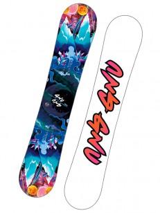 GNU snowboard ASYM VELVET C2E BLU/WHT