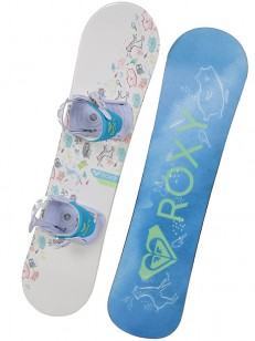 ROXY komplet POPPY PACKAGE WHT/PIN