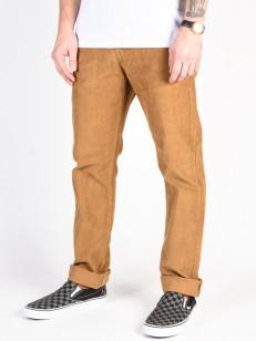 RVCA kalhoty DAGGERS PIGMENT CORD BRONZE