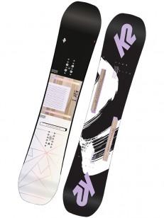 K2 snowboard LIME LITE WHT/BLK