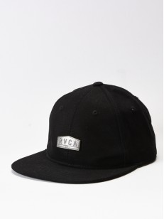 RVCA kšiltovka EMBLEM SIX PANEL BLACK