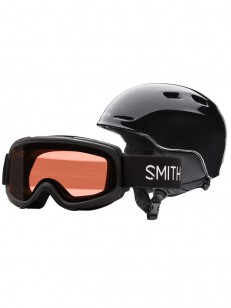 SMITH helma ZOOM JR/GAMBLER Black