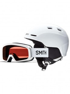 SMITH helma ZOOM JR/RASCAL White