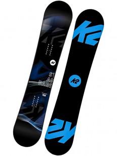 K2 snowboard STANDARD BLACK/BLUE