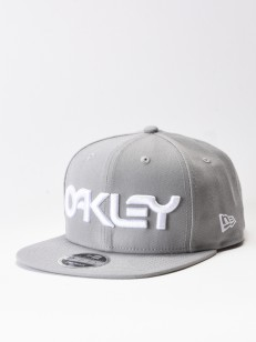 OAKLEY kšiltovka MARK II NOVELTY Stone Gray