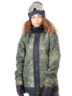 VOLCOM bunda WESTLAND INS Camouflage