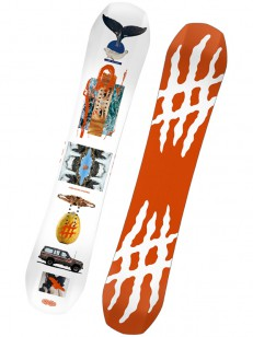 LOBSTER snowboard THE STOMPER