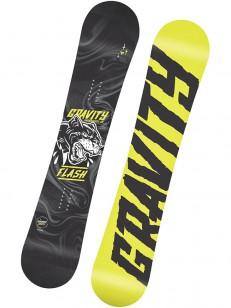 GRAVITY snowboard FLASH GRY/GRN