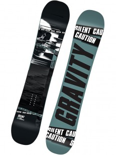 GRAVITY snowboard SILENT GRY/GRN