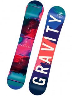 GRAVITY snowboard THUNDER PIN/BLU