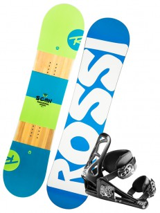 ROSSIGNOL komplet SCAN +ROOKIE BLUE/WHITE