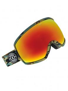 ELECTRIC brýle EGG CAMO + BL BROSE/RED CHROME