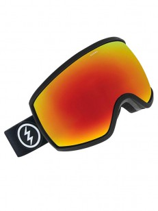 ELECTRIC brýle EGG MATTE BLACK + BL BROSE/RED CHRO